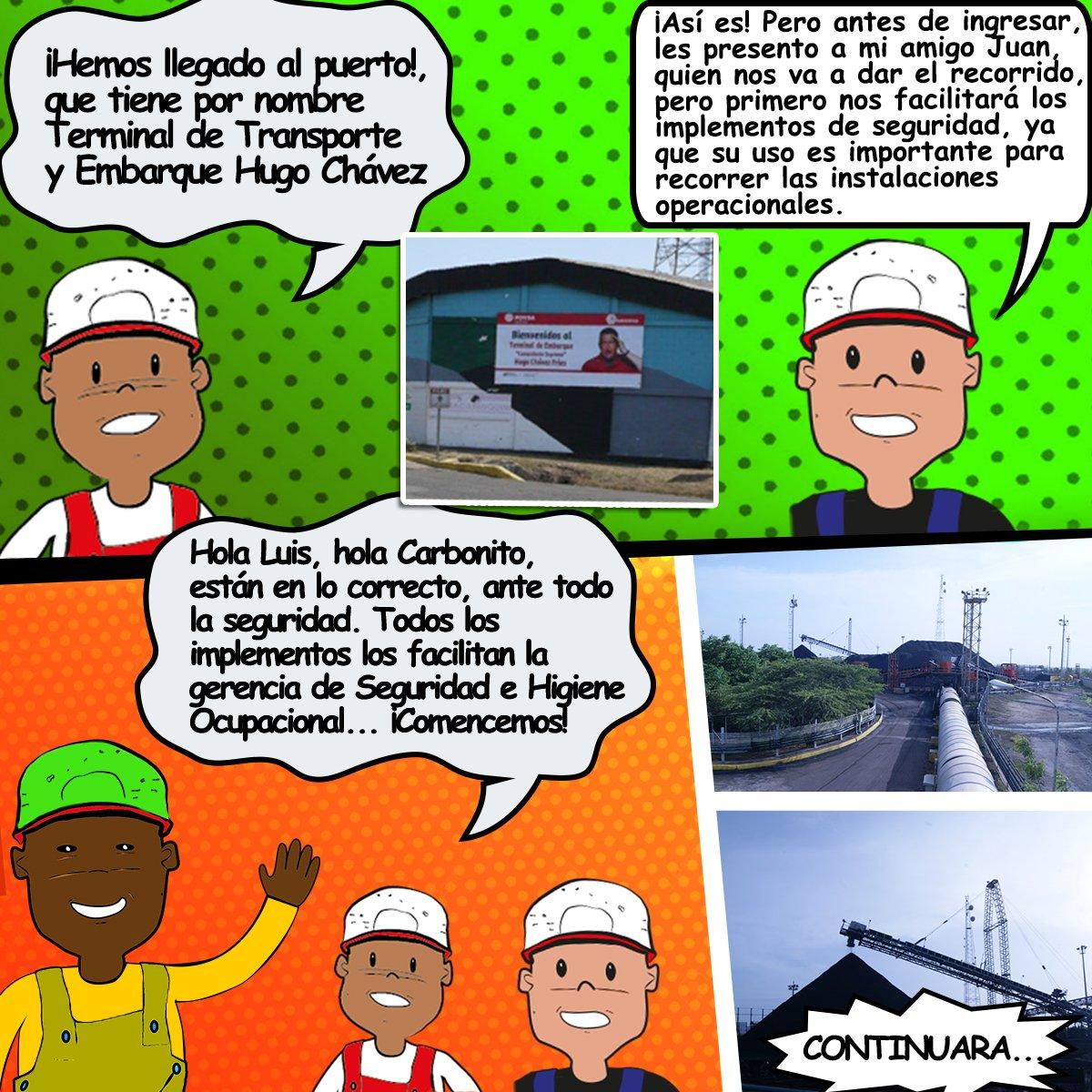 #JuevesDeCarbonito: Sigamos en el recorrido por nuestras instalaciones con #Carbonito y sus amigos… #SomosCarbozuliapic.twitter.com/U2aBfL2vL0