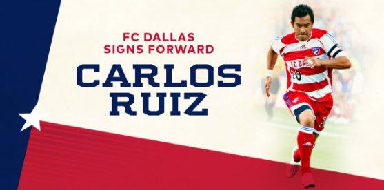 Carlos Ruiz firma con el FC Dallas