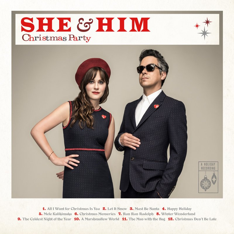 We are happy to announce that we have a new Christmas album called 'Christmas Party' coming out on October 28. https://t.co/s6yHPJHdTW