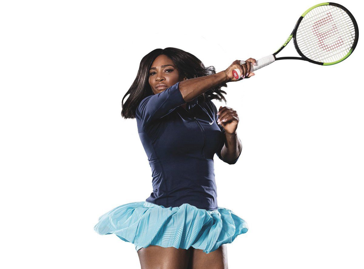 Serena Williams sports the Wilson Blade SW104 https://t.co/1BJxs1AEEv https://t.co/hRzY0LV7ri