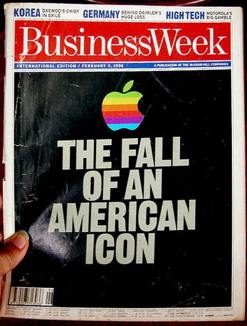 #TBT 20 years ago: BusinessWeek on #Apple https://t.co/6rFzBqmXFD