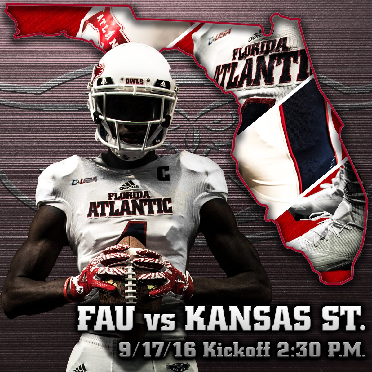 reputable site 78ada 97ccd FAU Football on Twitter: