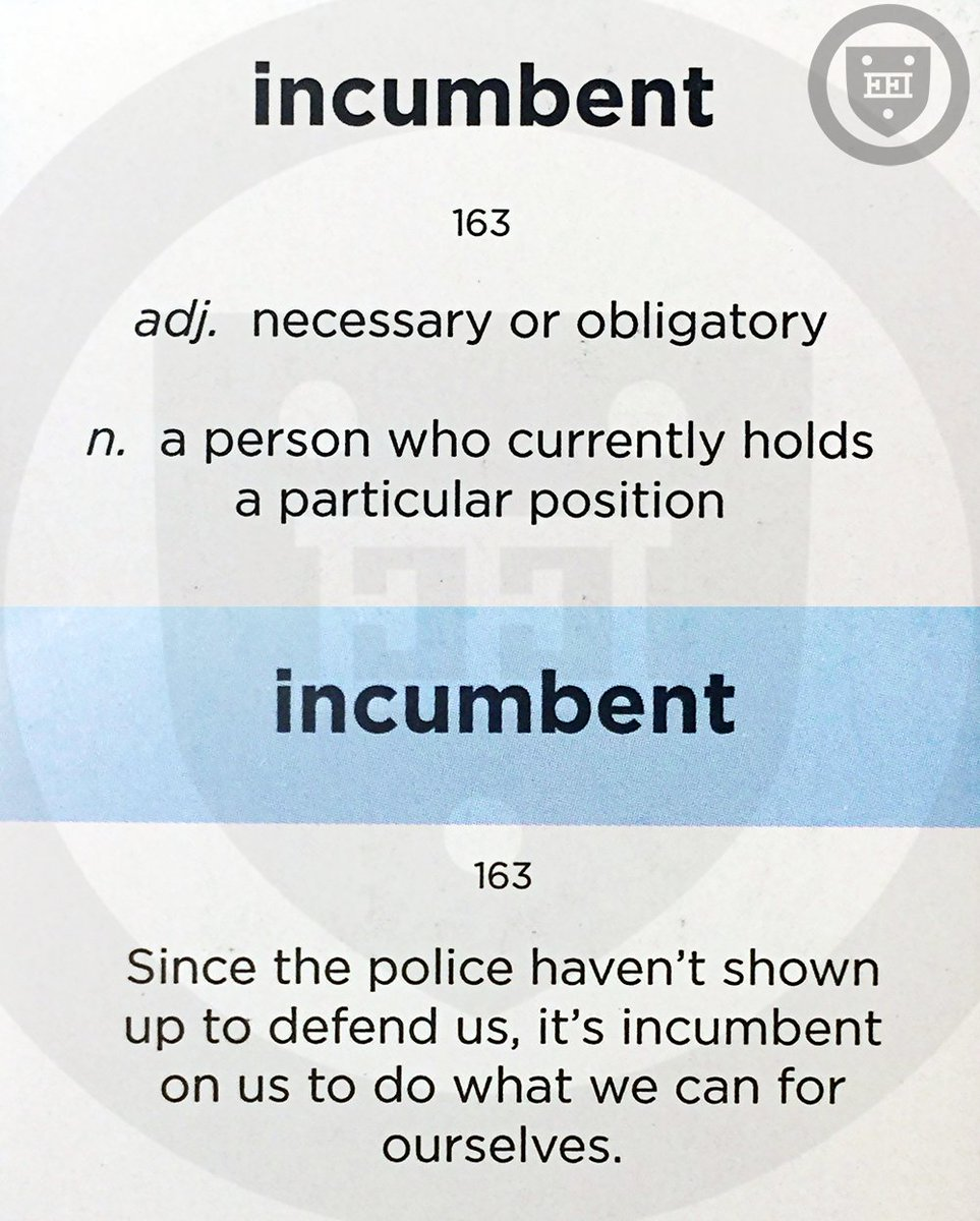 The Religious History of Incumbent Noun When incumbent was first used in English in the 15th century it referred to someone who occupied a beneficea paid