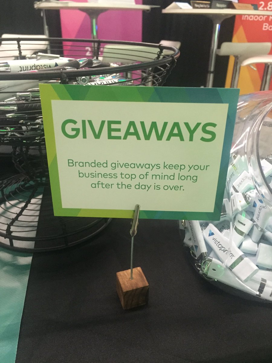 Trade Show Booth Giveaways : Awesome trade show giveaway ideas to help build your brand