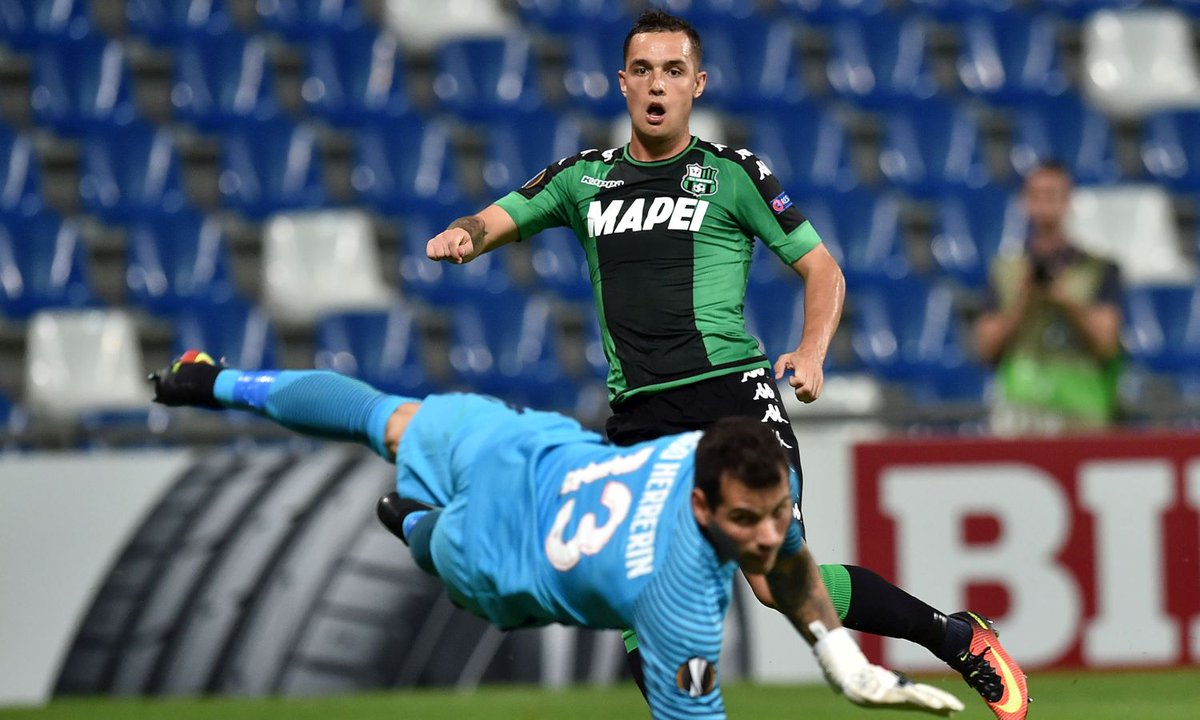 Video Pol Lirola gol del Sassuolo contro Athletic Bilbao