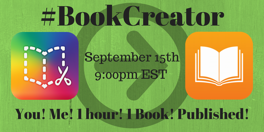 Thumbnail for #BookCreator 9/15/2016