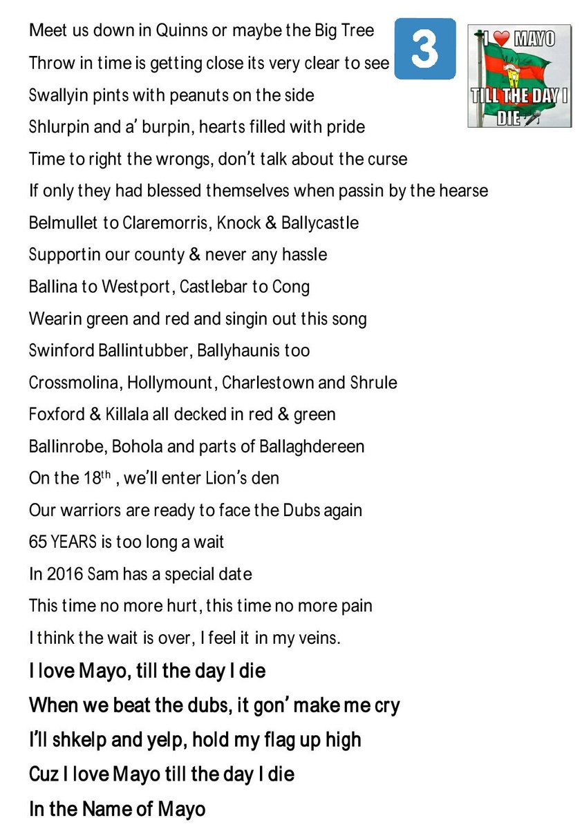 Mick Duffy On Twitter Heres The Lyrics To My Recent Video In The