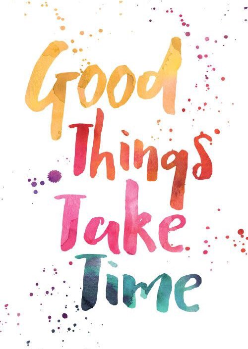Try to be patient and stay calm. Good things take time https://t.co/V04PXPtwnj via @actionhappiness x