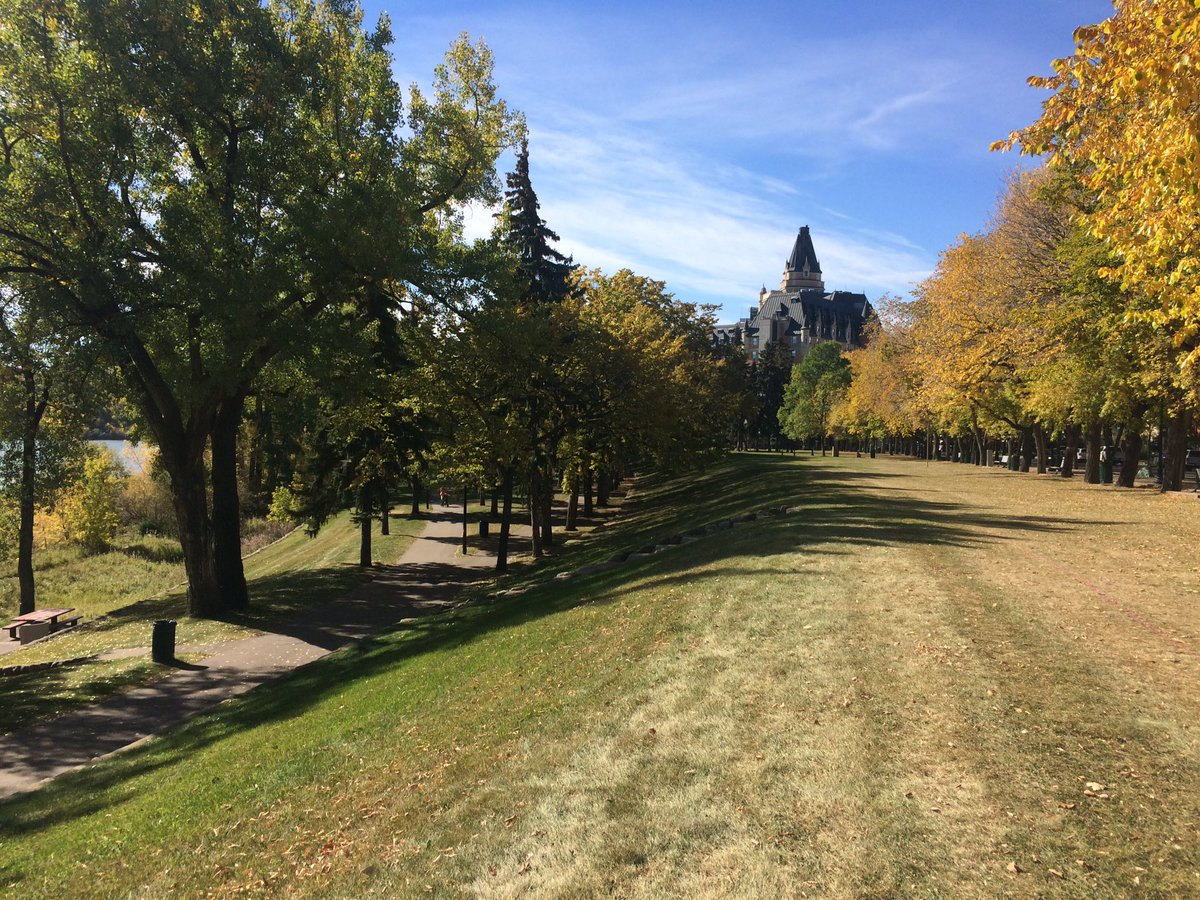 It's a beautiful day in #yxe to be collecting interviews by the river. https://t.co/lFyreGFxld