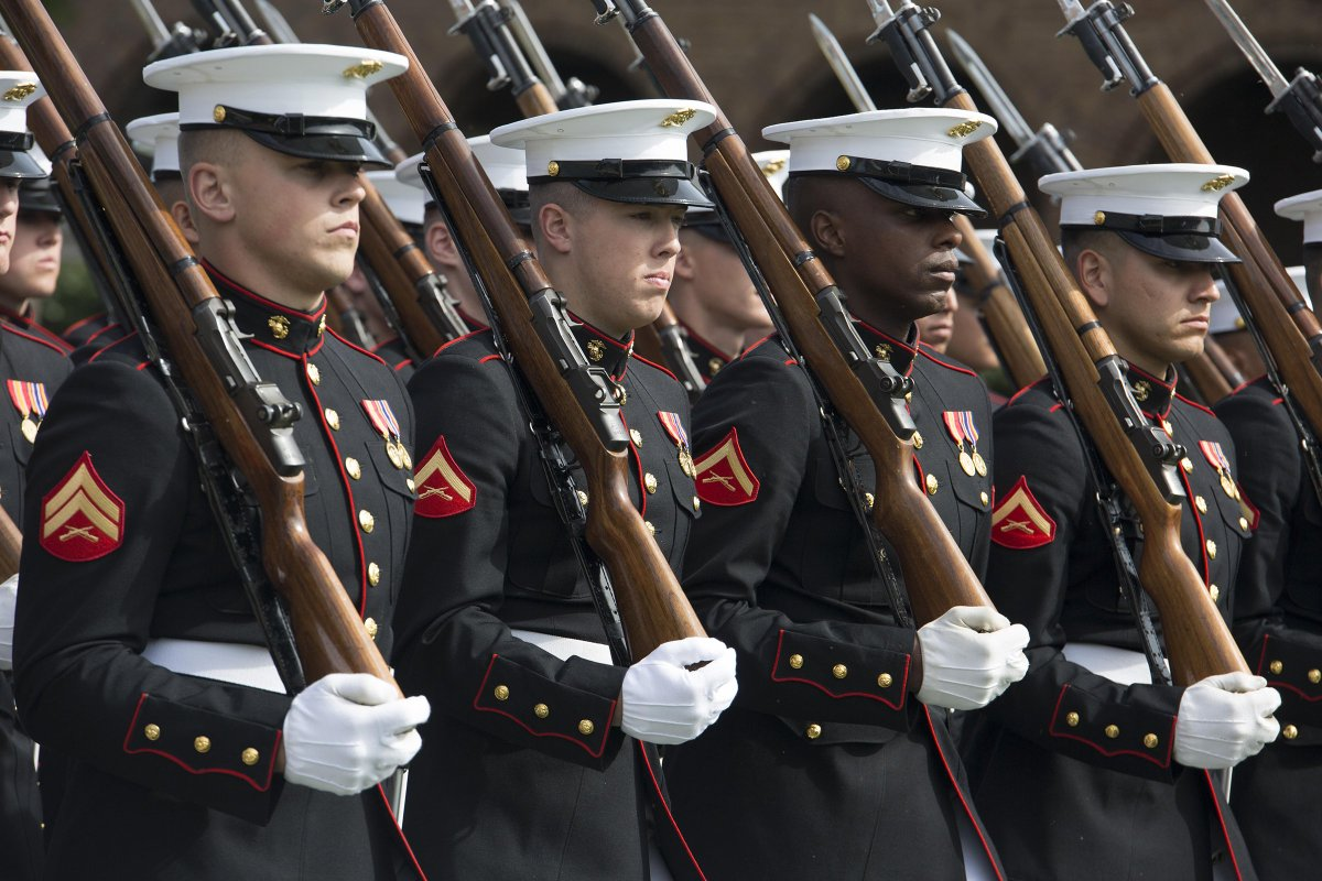 Marine corps dress blues reflect the proud legacy of ...