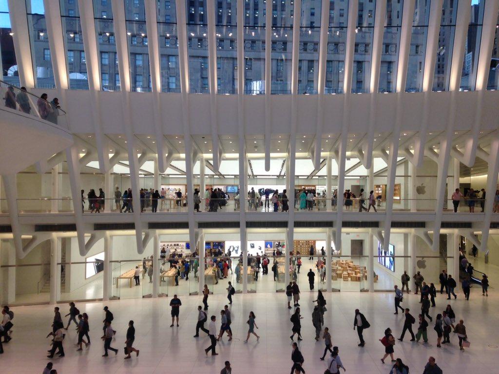 Olly Wainwright On Twitter The 4bn Calatrava Applestore Memorial