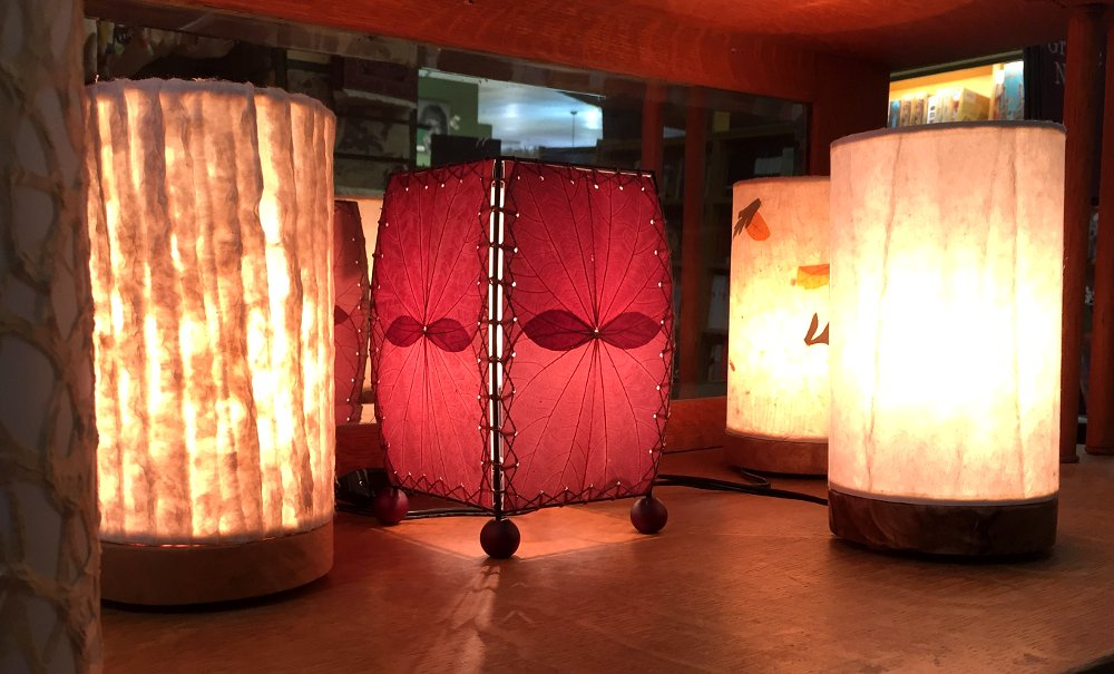 New Lamps From #eangee Home Design. Eco Friendly, Fair Trade, U0026 Handmade  With Real Wood U0026 Real Cocoa Leaves. $73 156 Pic.twitter.com/fPItPIrfgF