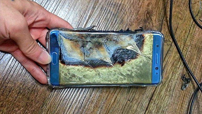 Cellulari Samsung Galaxy Note 7 richiamati a causa delle batterie difettose