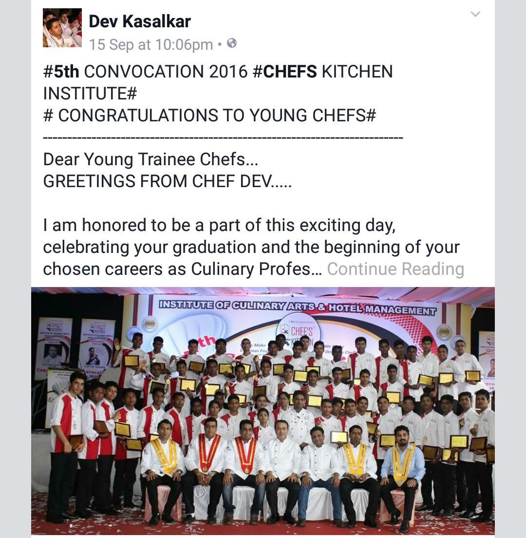 Chefs Kitchen  CK Followed