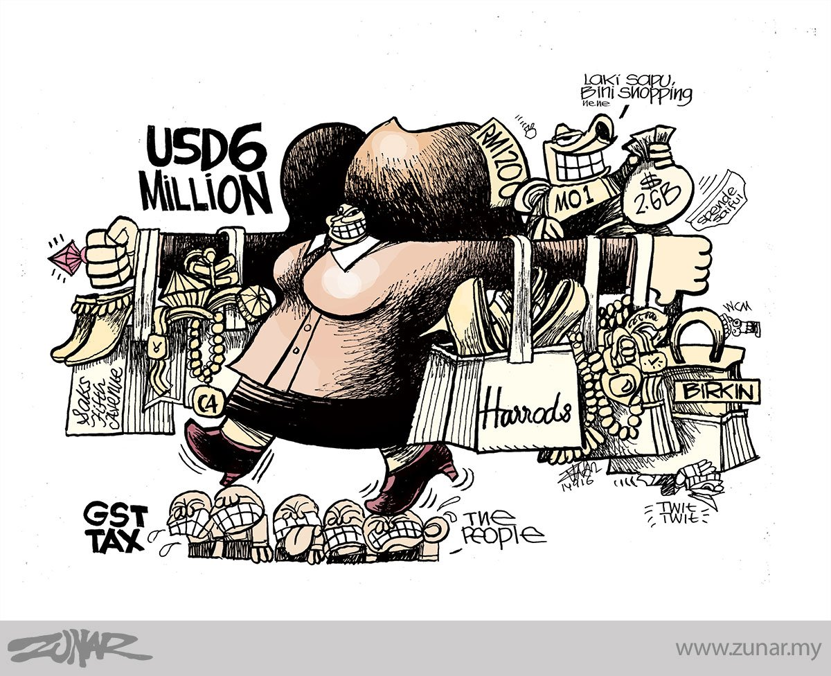 Zunar Sapu Shopping https://t.co/Cn1sAqLkGc via @zunarkartunis | https://t.co/hY9Cr89mcS https://t.co/OPgRW5dFm3