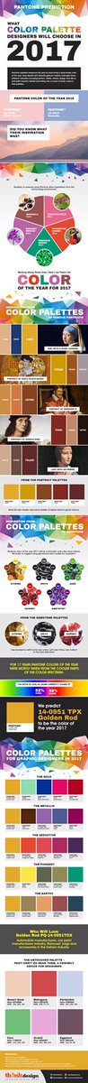 Here you go; #pantone #color predictions for #2017<br>http://pic.twitter.com/vVdU...  http:// twib.in/l/9Eoo6nz5kg4g  &nbsp;   #pantone #colors<br>http://pic.twitter.com/uA4vFnvV7O