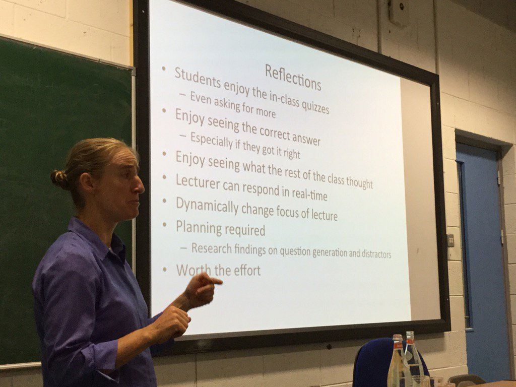 #DCUTEU reflections on what has worked well, from Monica Ward. Great interesting presentation https://t.co/eEPaiSKFBL