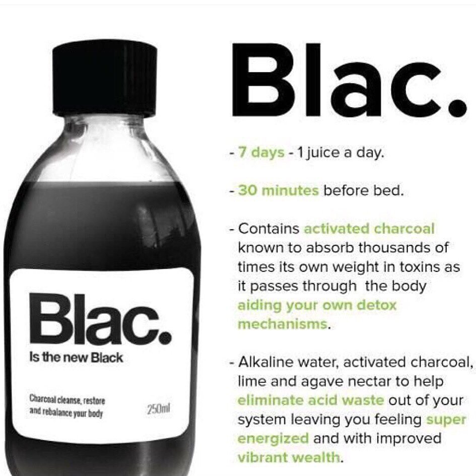 It's #FreebieFriday! #RT and #follow to win a 7 day charcoal cleanse from @Blac_Cleanse ?? winner picked 8pm ??? https://t.co/VUM6uz8C5D