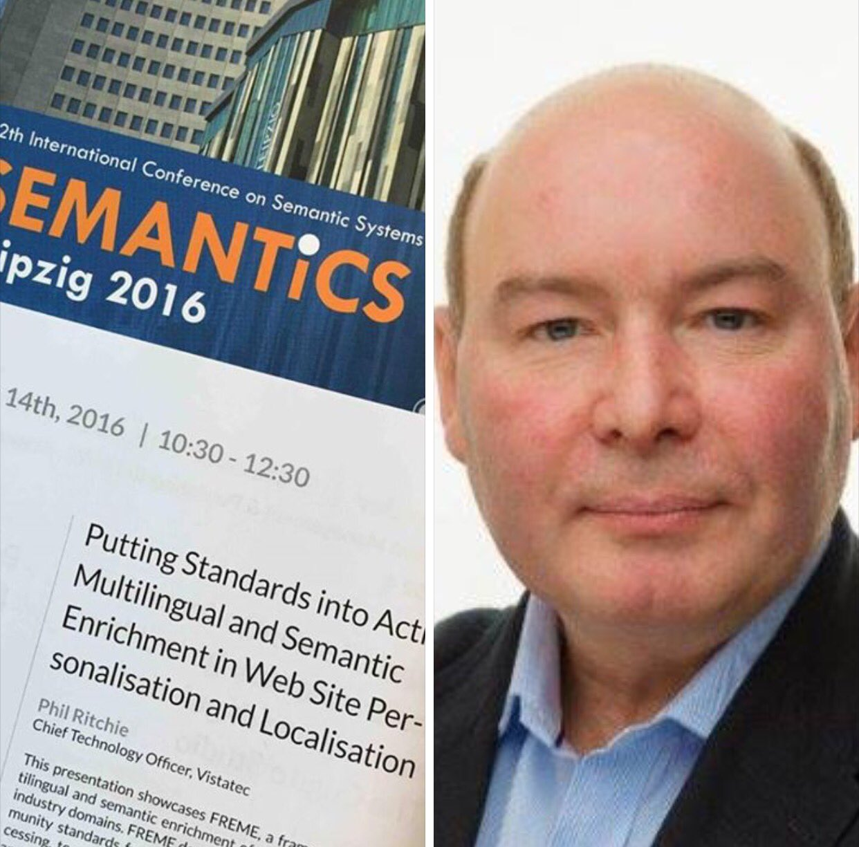 Vistatec CTO presenting at SEMANTiCS 2016 conference #semanticsconf #ThinkGlobal @philinthecloud https://t.co/rypZzPRq5C