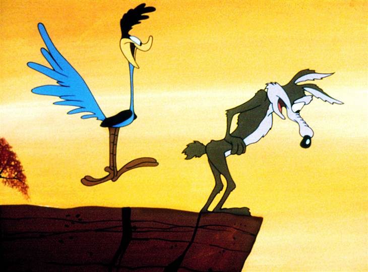 #16settembre 1949: il primo episodio di Wile E. Coyote e Beep Beep. #AccaddeOggi