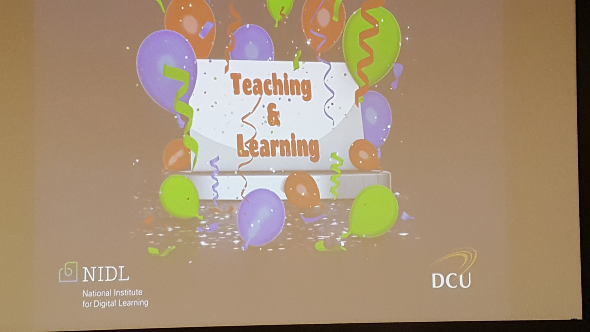 First Teaching and learning day ready to start #dcuteu https://t.co/ccbMS1qrws