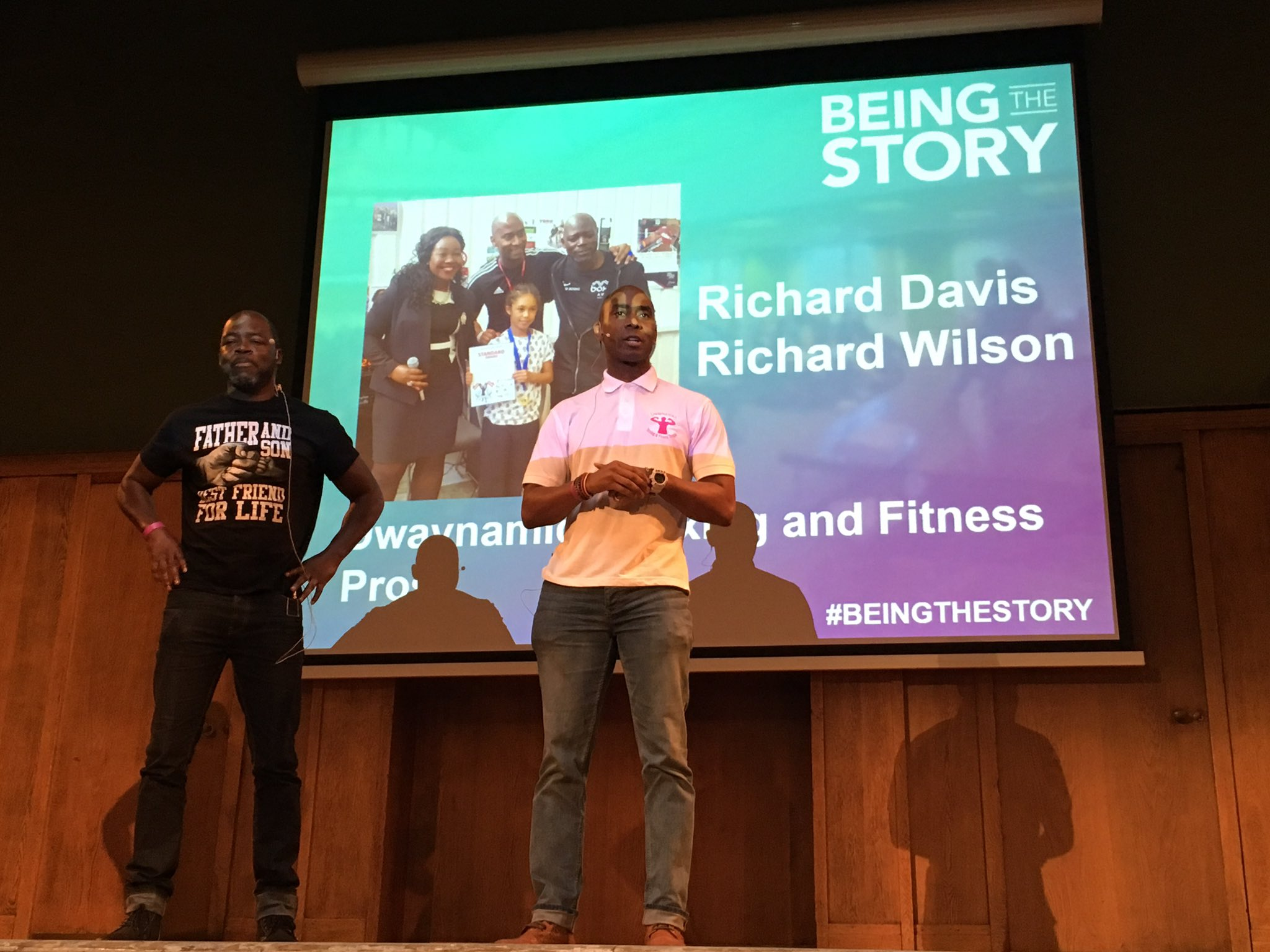 We loved R1 & R2 from @dwaynamics getting us ready for the day at #BeingTheStory https://t.co/d1Az8fsrBn