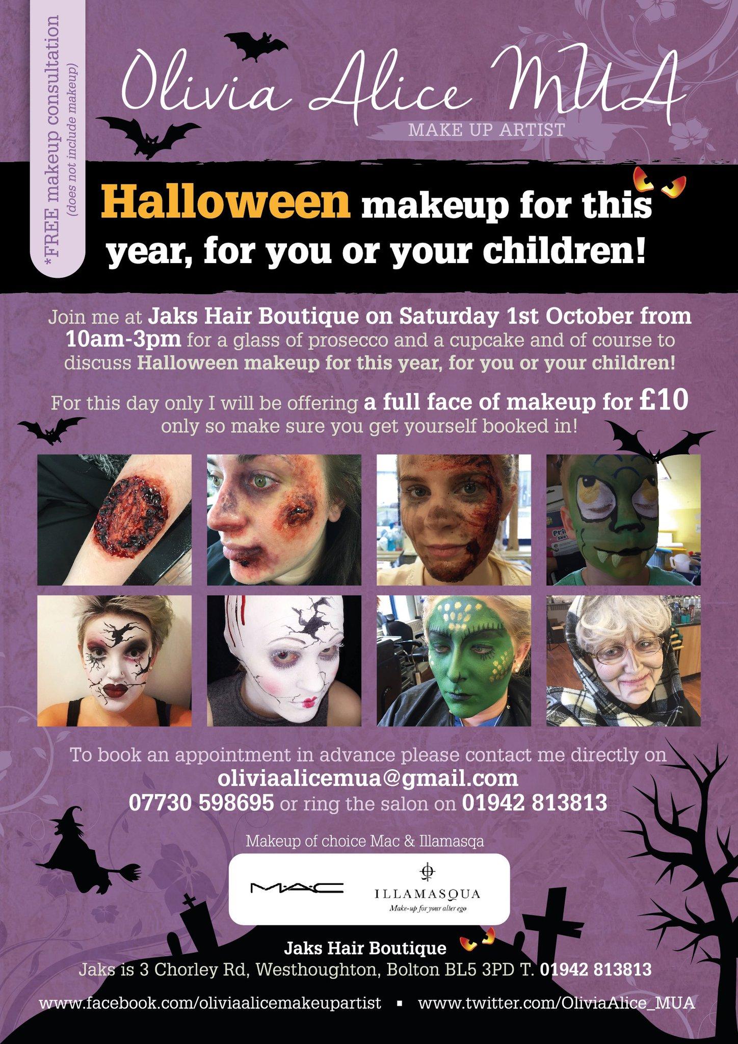"""Lisa Wilkinson on Twitter """" Halloween flyer created for Olivia"""