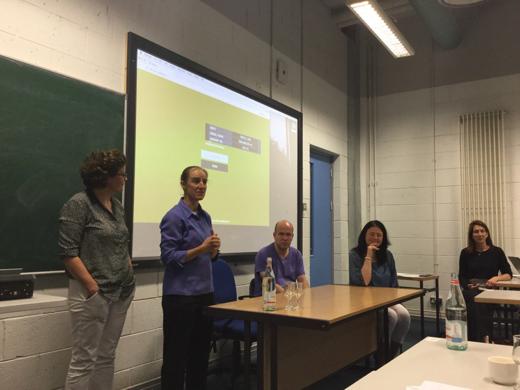 #DCUTEU four .presenters answering questions. Very inspiring work all - thanks for sharing' https://t.co/ix5lM9ER1q