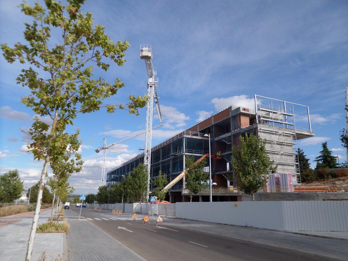 valdebebas on twitter las obras de las nuevas oficinas