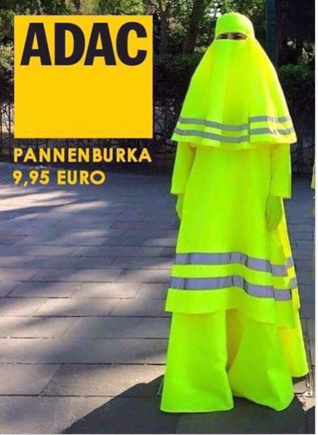 Burka Warnweste