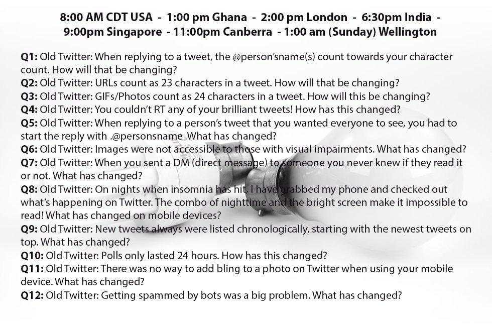 Questions for #NT2t on 9/17 are here! Learn what is changing in Twitter! Spread the word! Global times on pic-plz RT https://t.co/mTZVdVqIMi