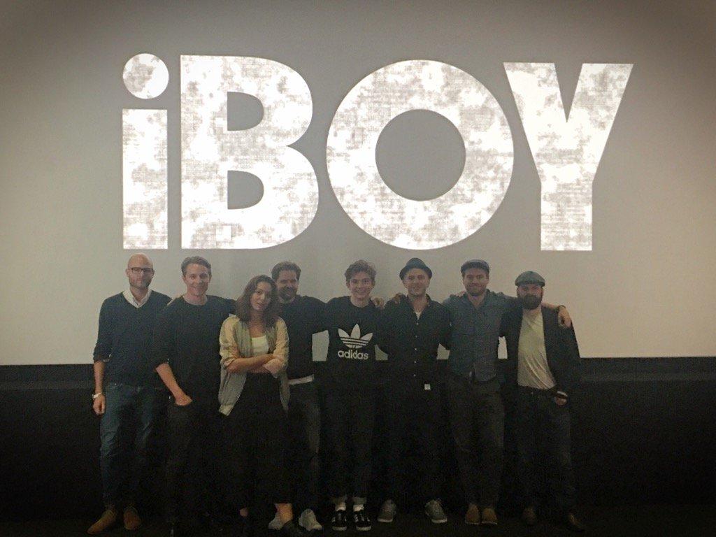 It only took 5 years, iBOY is now complete. Huge thanks @wigwamfilms @gailmu @XYZFilms @Bill_Milner @Maisie_Williams