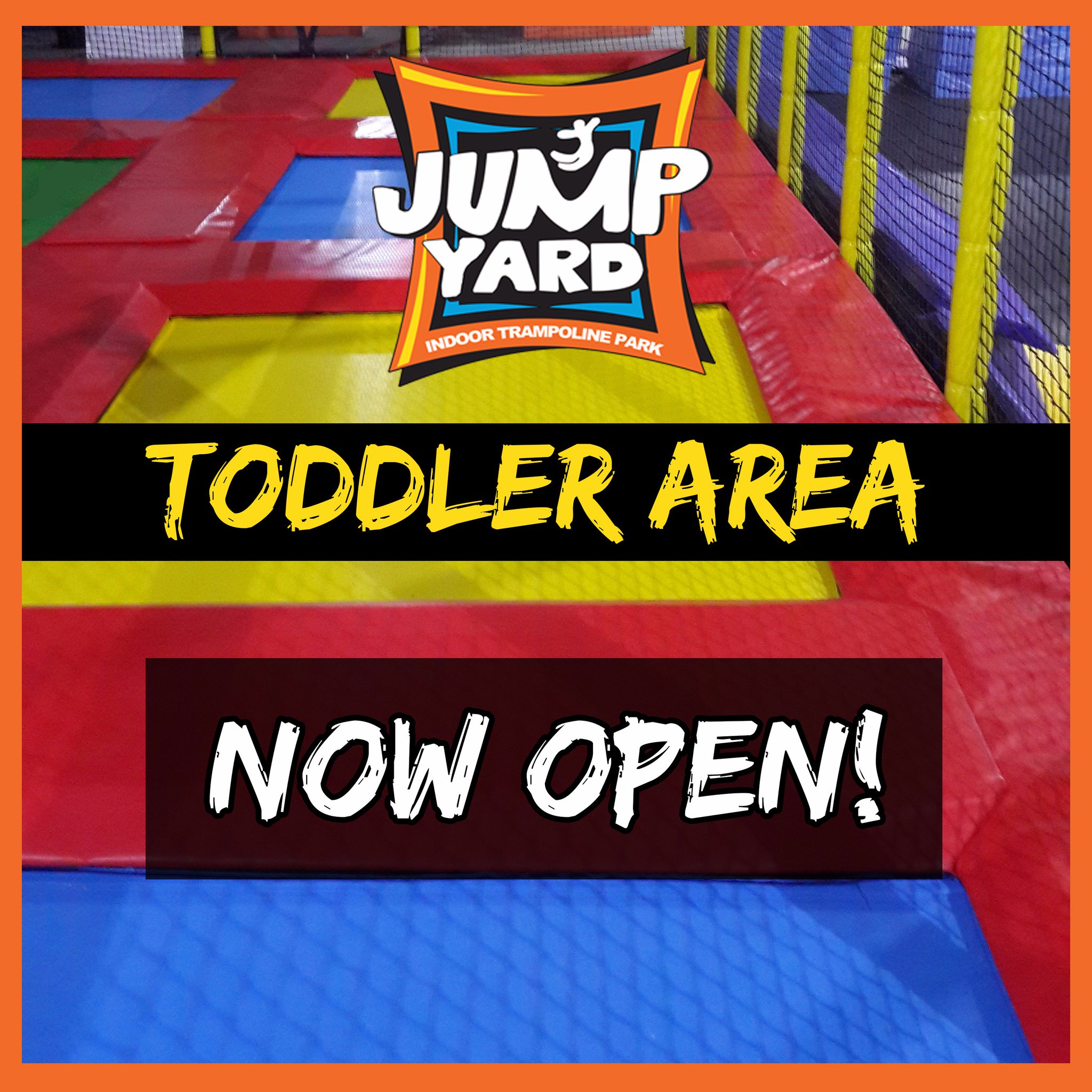 Jump Yard On Twitter Here S Some Good News For Our Lil Jumpers Our Toddler Area Is Now Open Jumpyard Trampolinepark Toddler