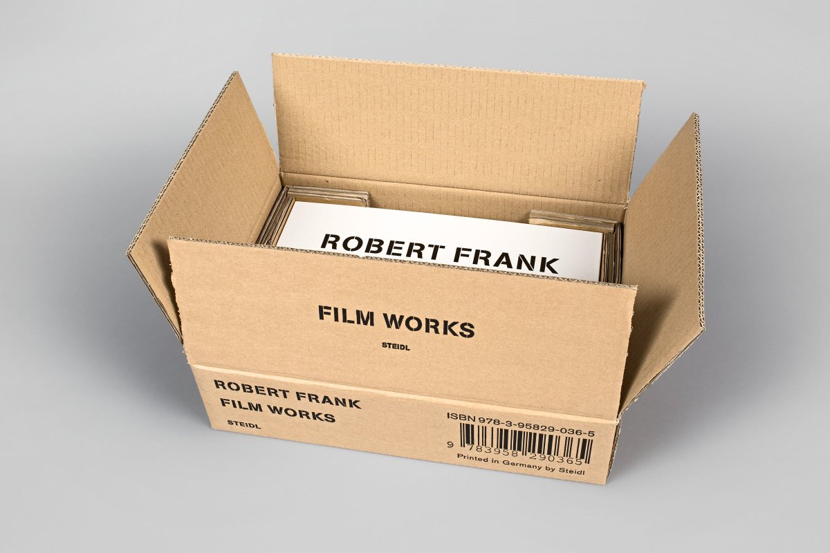 The wait is over! FILM WORKS by ROBERT FRANK is out, take a look - https://t.co/AajjJdMBsc https://t.co/P3XfprXZL7