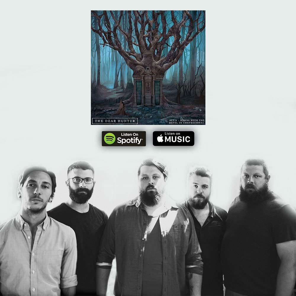 ACT V is now live on @Spotify and @AppleMusic! Please listen, save, share, and add to your playlists! Enjoy! https://t.co/tqobEtoWDz