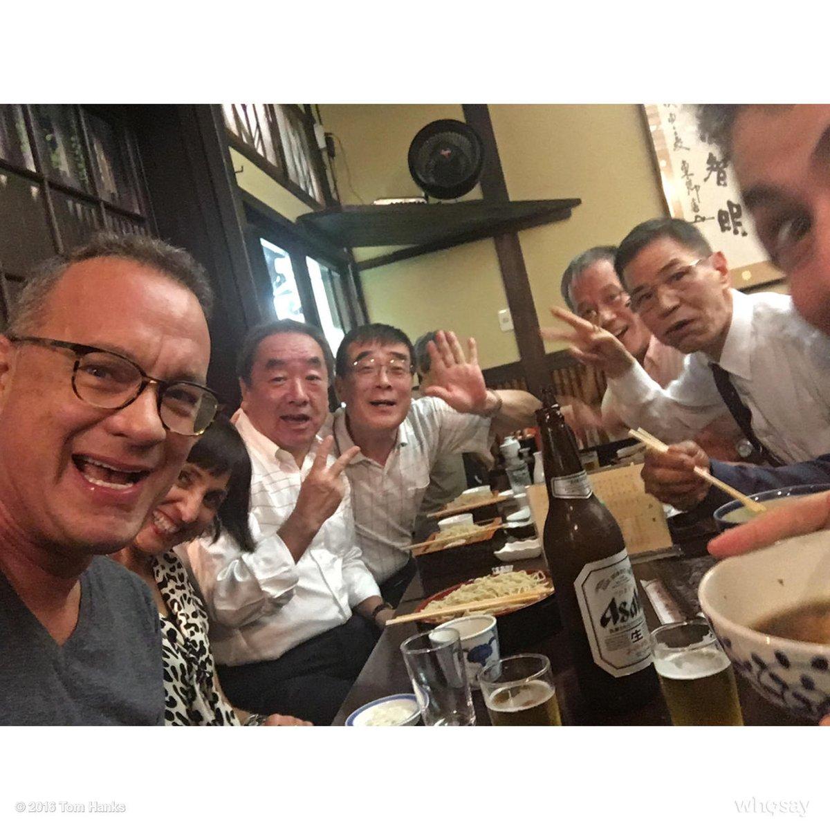 Rocking Tokyo with my crew. Hanx. https://t.co/U1gG22KHhq