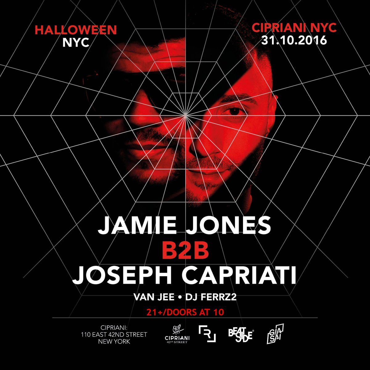 live nation nyc on twitter get tickets now for cipriani nyc x halloween w jamiejonesmusic josephcapriati more httpstcoo1yc72v8wo