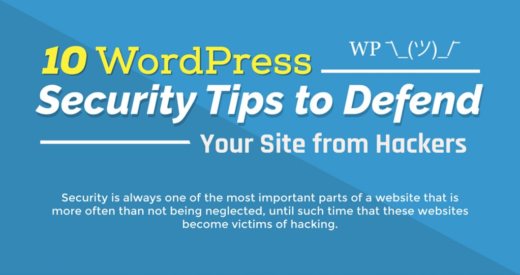 10 #WordPress #Security Tips to Defend Your Site from #Hackers (Infographic) https://t.co/yhQ2RO6OBK #websecurity @… https://t.co/HXQZjiSO5A