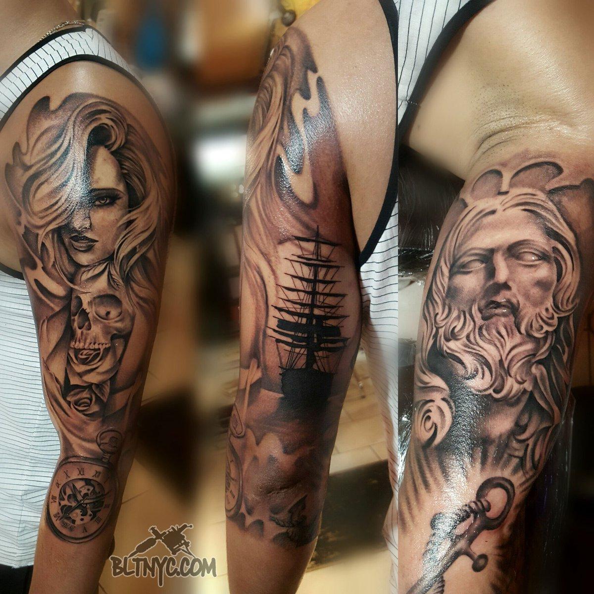 Zeus Arm Tattoo T