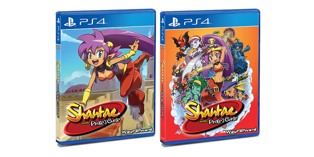 Shantae and the Pirate's Curse Version Physique PS4 CsgB59VXEAADPCI