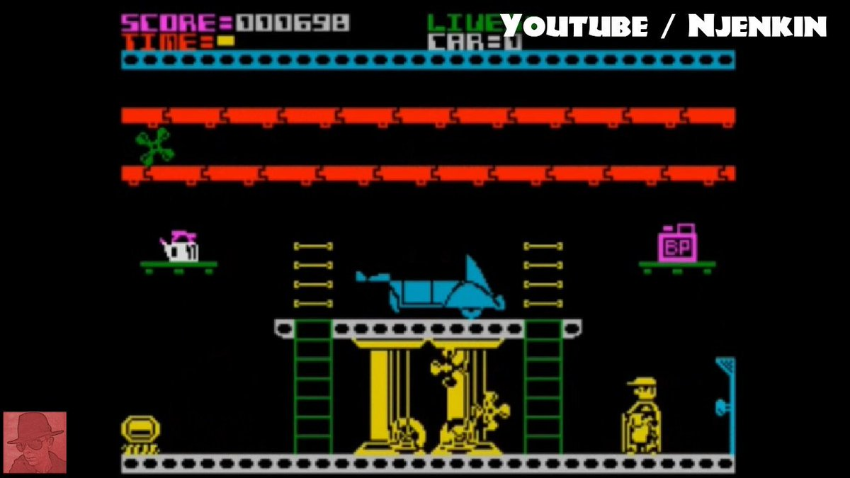 Automania. This guy had the most dangerous garage of all time. What a Wally. #retrogaming #ZXspectrum #Safety https://t.co/CW9kalBJX2