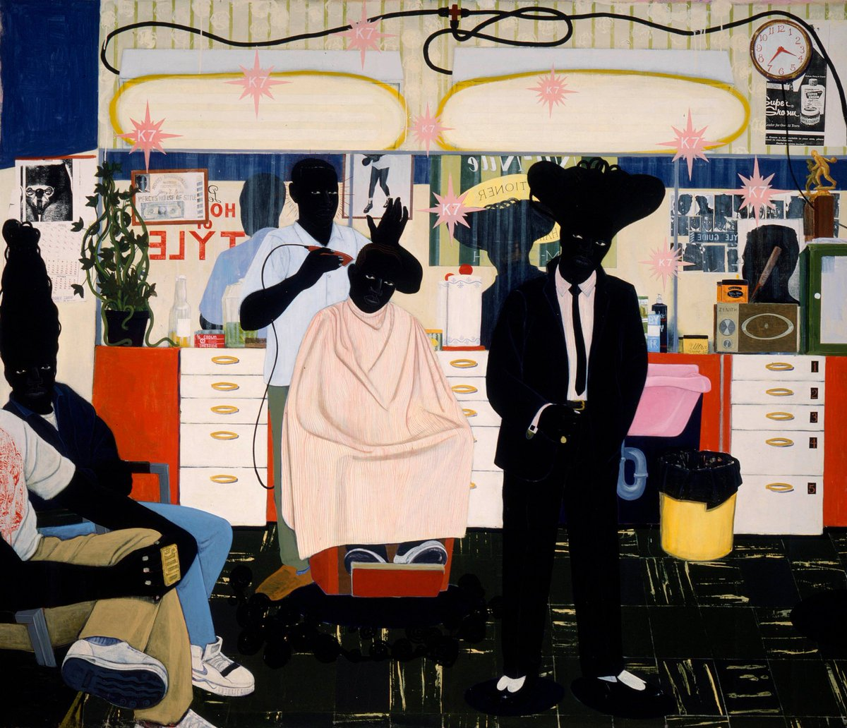 Kerry James Marshall, Boldly Repainting Art History https://t.co/JCh1hizNuR https://t.co/JjR4KIiEOE