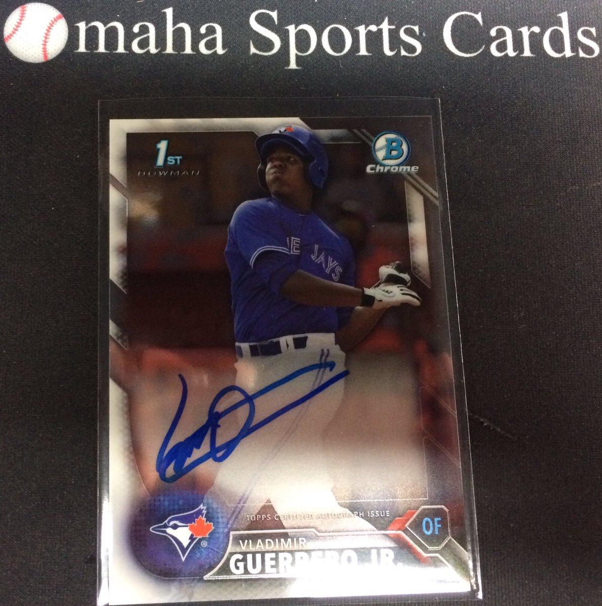 Omaha Sports Cards On Twitter Vladimir Guerrero Jr On