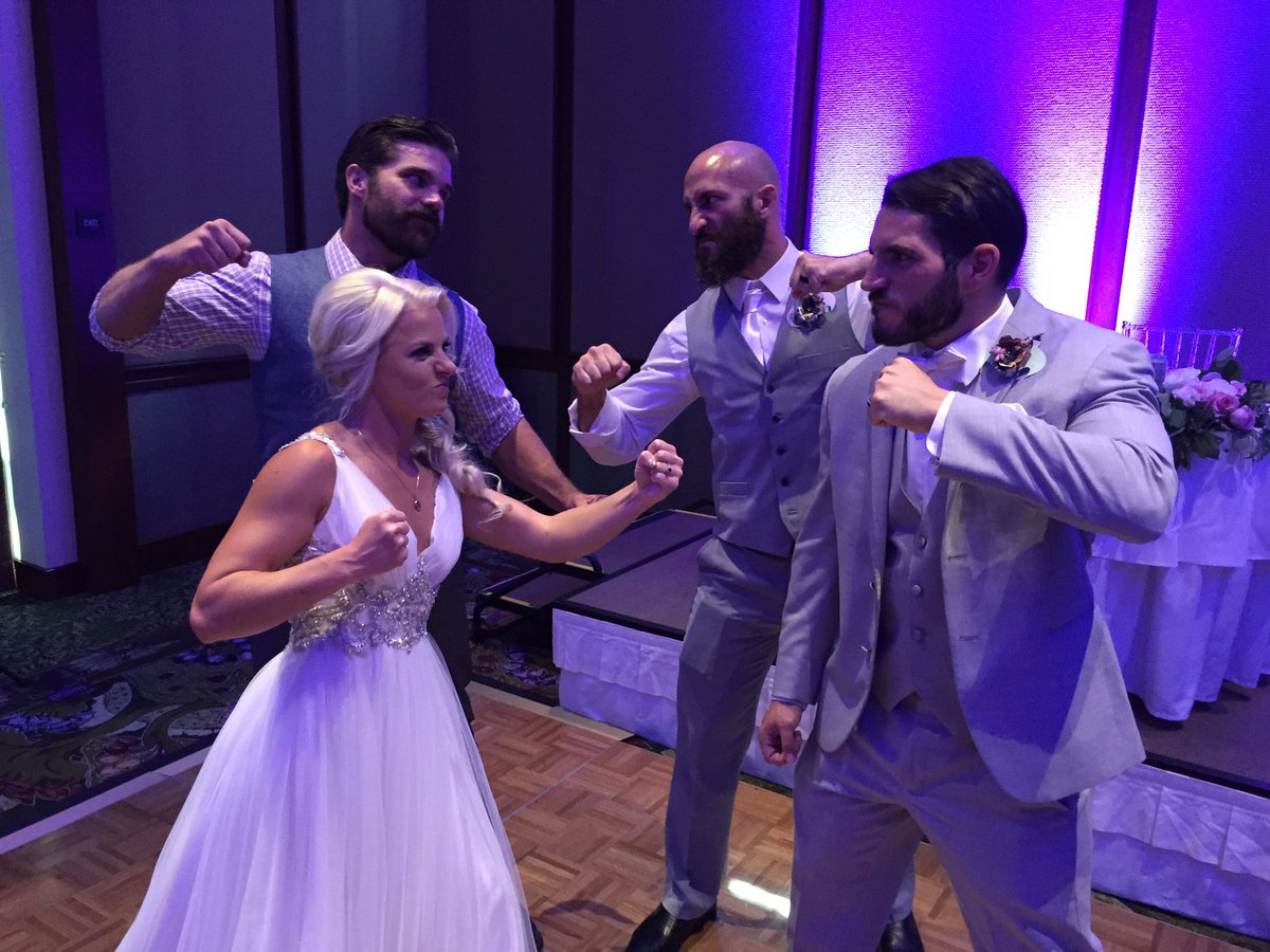 Congrats To Johnny Gargano And Candice Lerae On Getting Married Today Squaredcircle