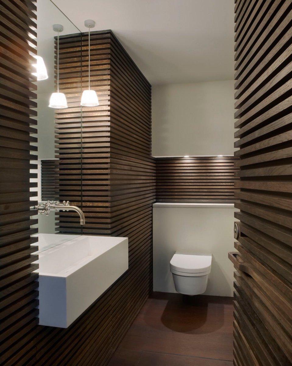 Guest bathroom powder room design ideas 20 photos for Small bedroom no windows