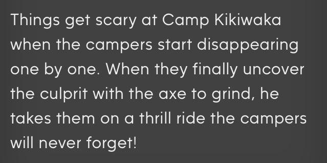 bunkd camp kiki slasher