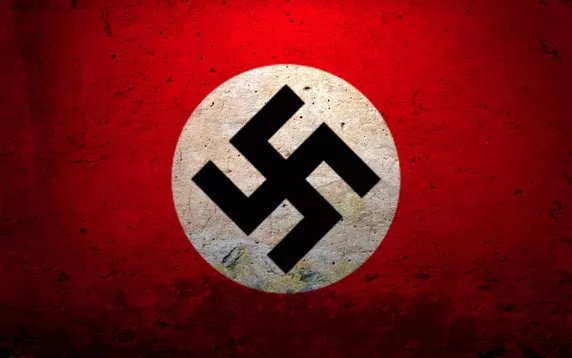 In case you're unaware what Pepe the Frog means, it's the same as this famous symbol. #AltRight @maddow https://t.co/6oBQEyHlVX