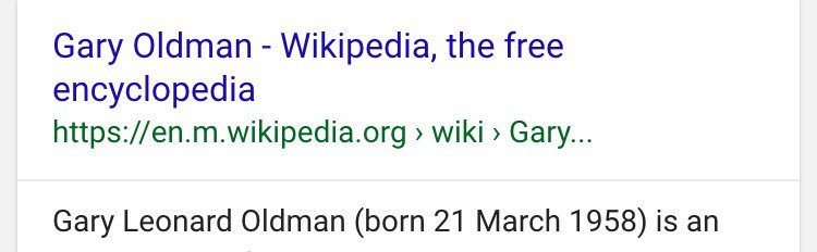 Gary Numan is 13 days older than Gary Oldman. Why is this the first time I'm aware of this? https://t.co/QSERzL2Mgq