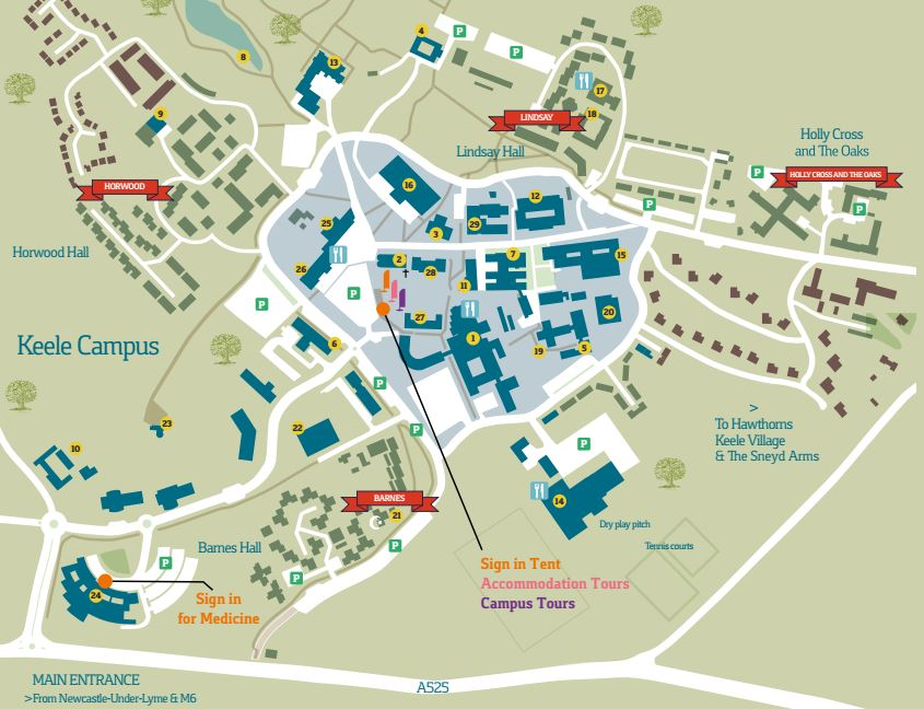 Map Of England Keele.Keele University On Twitter Coming To Our Open Day Please Sign In