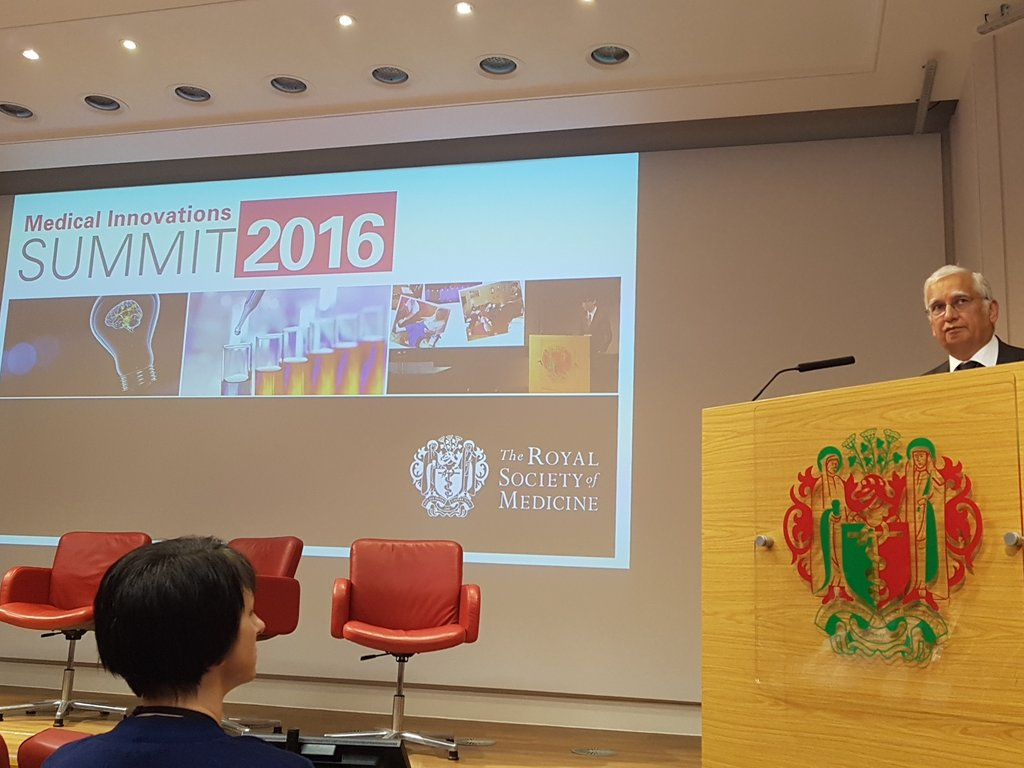 It's a sellout, so I'll share some choice morsels from the smorgasbord @RoySocMed #medinnov https://t.co/tDLJG33ezx